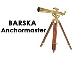 BARSKA Anchormaster 36x80mm Brass Refractor Telescope with Mahogany Floor Tripod Review