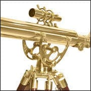 BARSKA Anchormaster 36x80mm Brass Refractor