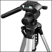 BARSKA Deluxe Tripod Extendable to 63.4 and Carrying Case