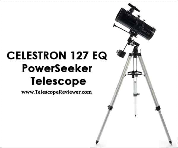 Celestron 127 EQ PowerSeeker Telescope