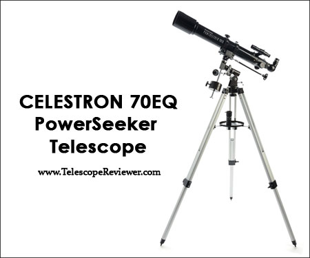Celestron 21037 PowerSeeker 70EQ