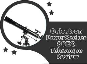Celestron Powerseeker 80EQ