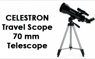 Celestron 21035 70mm Travel Scope Telescope Review