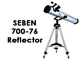 Seben 700-76 Reflector Telescope