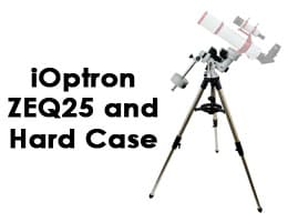iOptron 7100-HC ZEQ25 with Polar Scope and Hard Case Telescope Review