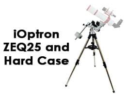 iOptron 7100-HC ZEQ25 with Polar Scope and Hard Case