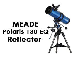 Meade Instruments 216006 Polaris 130 EQ Reflector