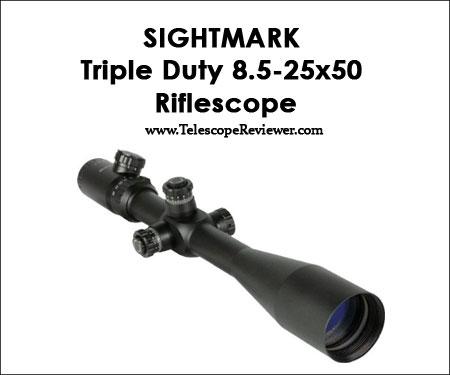 Sightmark Triple Duty 8.5-25x50 Riflescope
