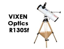 Vixen Optics R130Sf with Wood Tripod