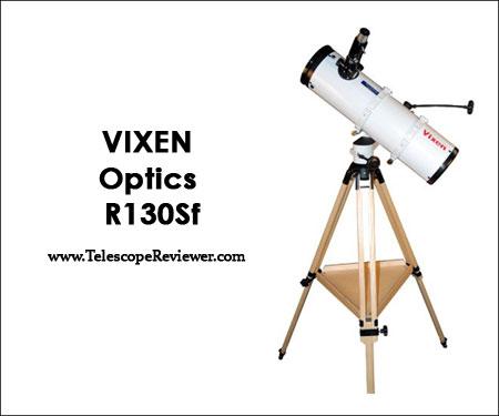 Vixen Optics R130Sf with Wood Tripod