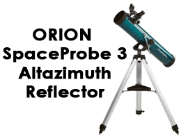 Orion 11043 SpaceProbe 3 Altazimuth Reflector
