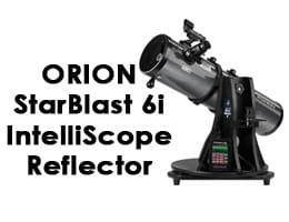 Orion 27191 StarBlast 6i IntelliScope Reflector Telescope Review