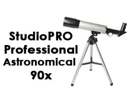 StudioPRO Professional Astronomical 90x Telescope Review