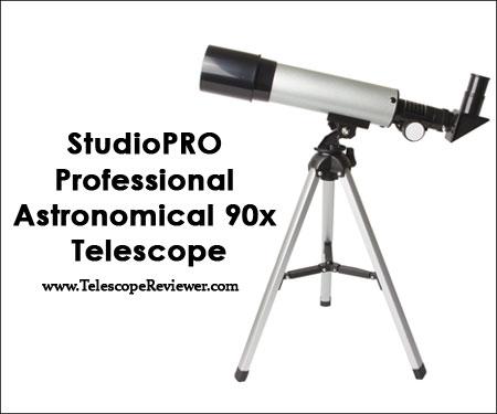 StudioPRO Professional Astronomical 90x Telescope