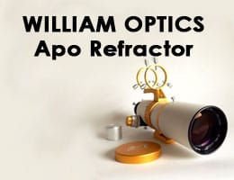 William Optics GT81 81mm f5.9 Apo Refractor Telescope