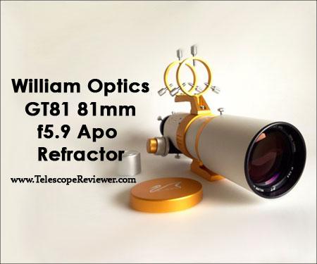 William Optics GT81 81mm f5.9 Apo Refractor Telescope