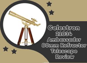 Celestron 21034 AMBASSADOR 80mm