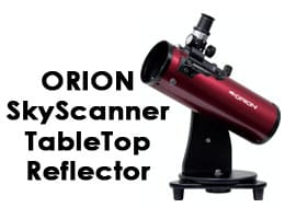 Orion 10012 SkyScanner 100mm TableTop Reflector