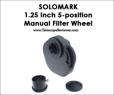 Solomark 1.25 Inch 5 Position Manual Filter Wheel