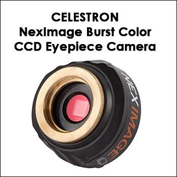 Celestron NexImage Burst Color CCD Eyepiece Camera