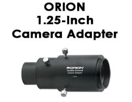 Orion 1.25-inch Variable Universal Camera Adapter Review