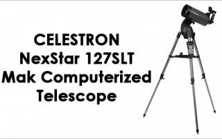 Celestron Nexstar 127 Slt Telescope Review