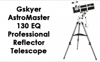 Gskyer AstroMaster 130EQ Professional Reflector Telescope