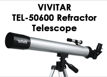 Vivitar TEL50600 Refractor Telescope