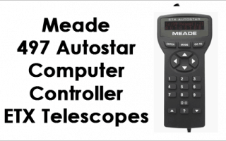 Meade Autostar 497 Computer Controller for ETX Telescopes