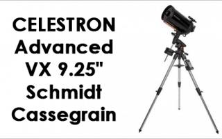 Celestron 9.25 inch Schmidt-Cassegrain