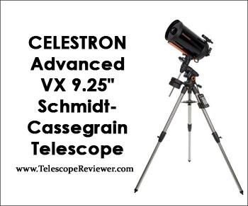 """Celestron Advanced VX 9.25"""" Schmidt-Cassegrain Telescope 12046"""