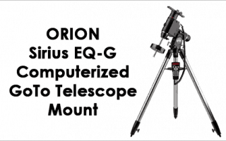 Orion Sirius EQ-G Computerized GoTo Telescope Mount