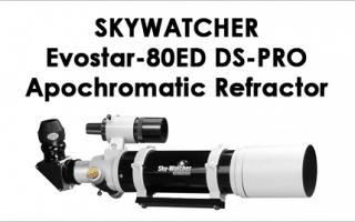 Skywatcher Evostar 80ED DS-PRO Apochromatic Refractor 80 mm