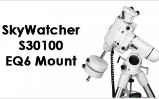 SkyWatcher S30100 EQ6 Mount