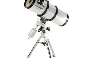 Meade LXD75 SN-8AT Telescope review