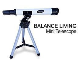 balance living mini telescope