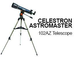 Celestron 22065 Astro Master 102AZ Telescope Review