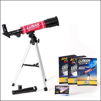 dr cool lunar telescope