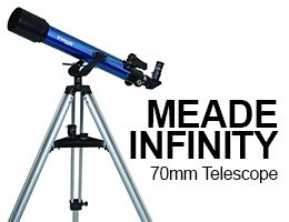 Meade Instruments Infinity 70mm Telescope Review