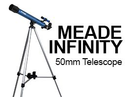 Meade Instruments Infinity 50mm Telescope Review