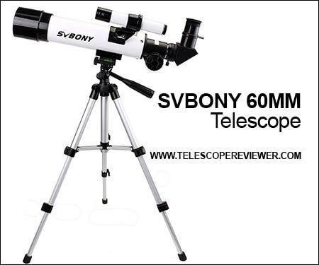 svbony 60mm telescope