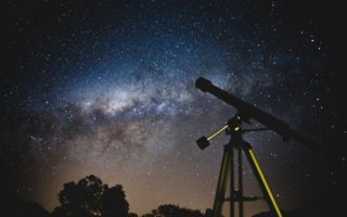 telescopes during night time