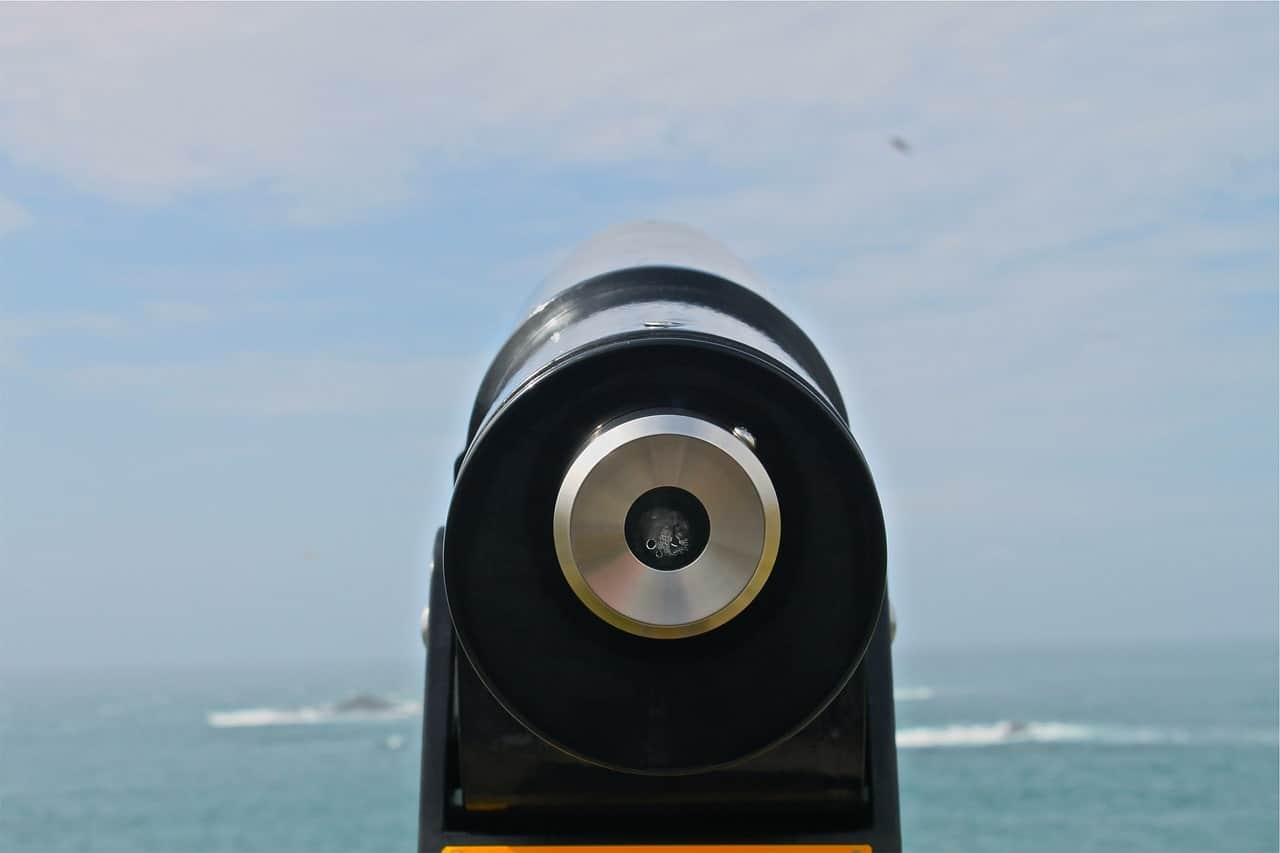 Tower view monocular